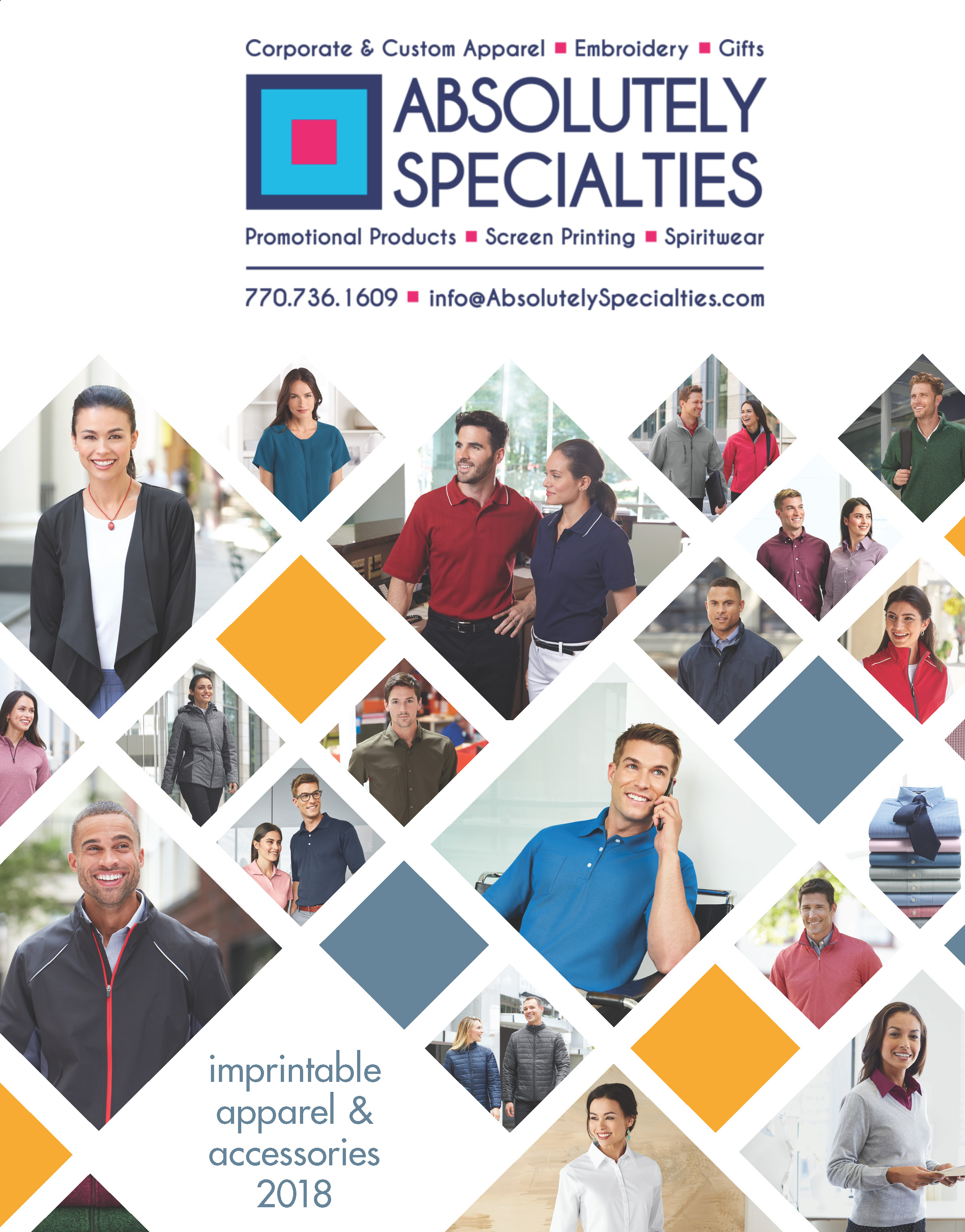 Absolutely Specialties Apparel & Accessories 2018