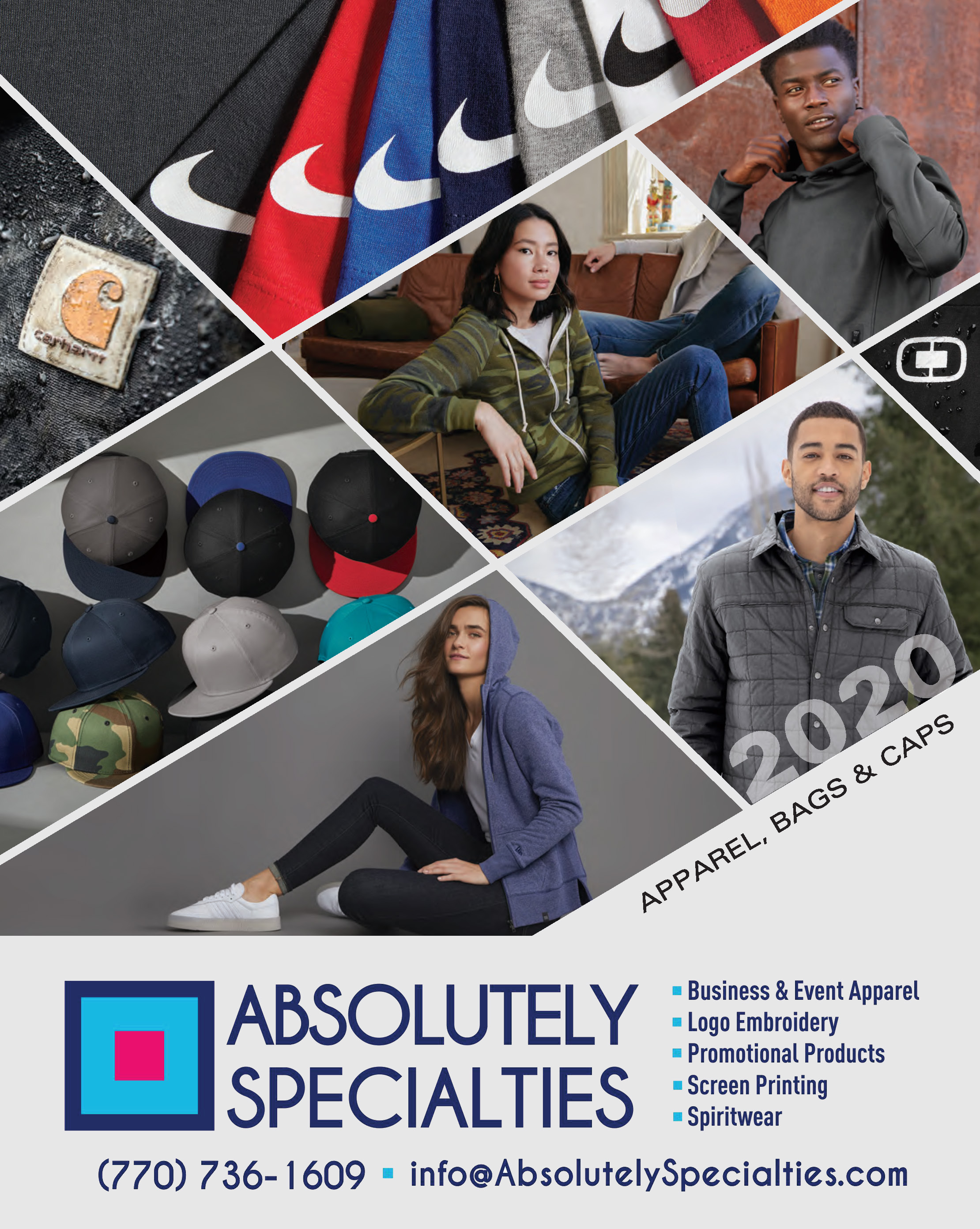 2020 Apparel Catalog - Nike, Ogio, & More